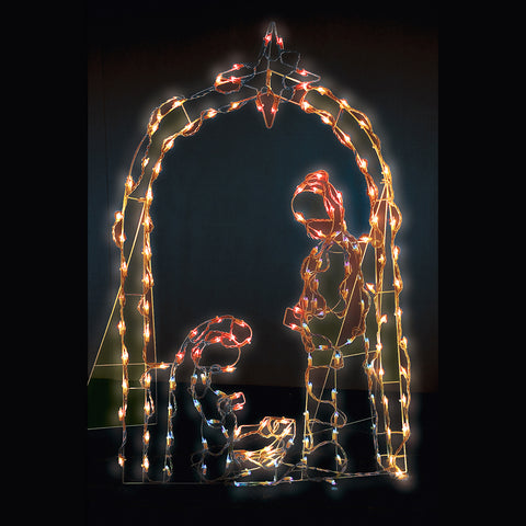 Holiday Nativity Scene<br>150 Mini Lights