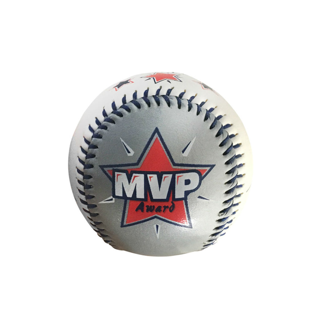 """MVP"" Baseball In Acrylic Cube by Counseltron"