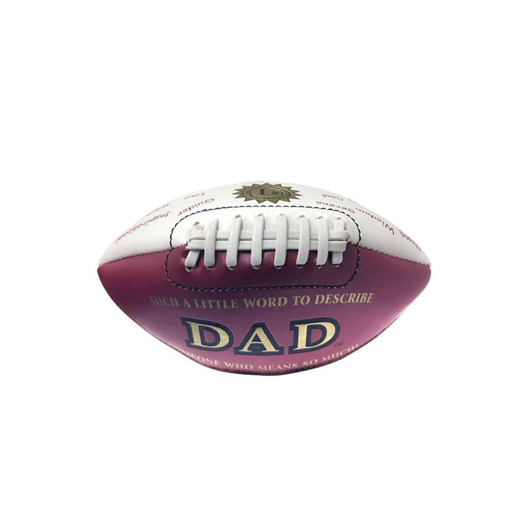 """Dad"" Mini Football by Counseltron"