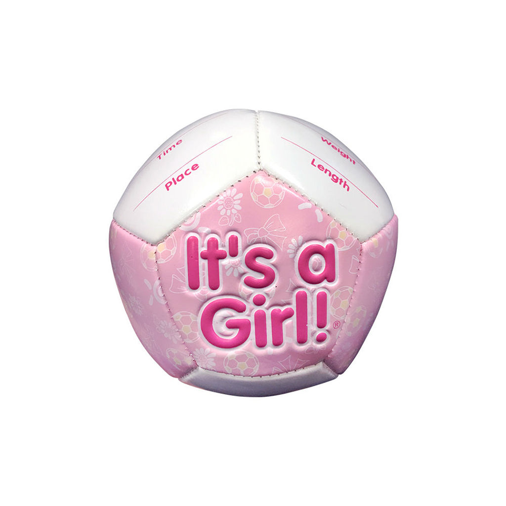 """It's a Girl"" Mini Soccer Gift Pack by Counseltron"