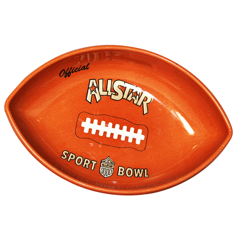 10 inch Chip and Dip Bowl - Football by Counseltron
