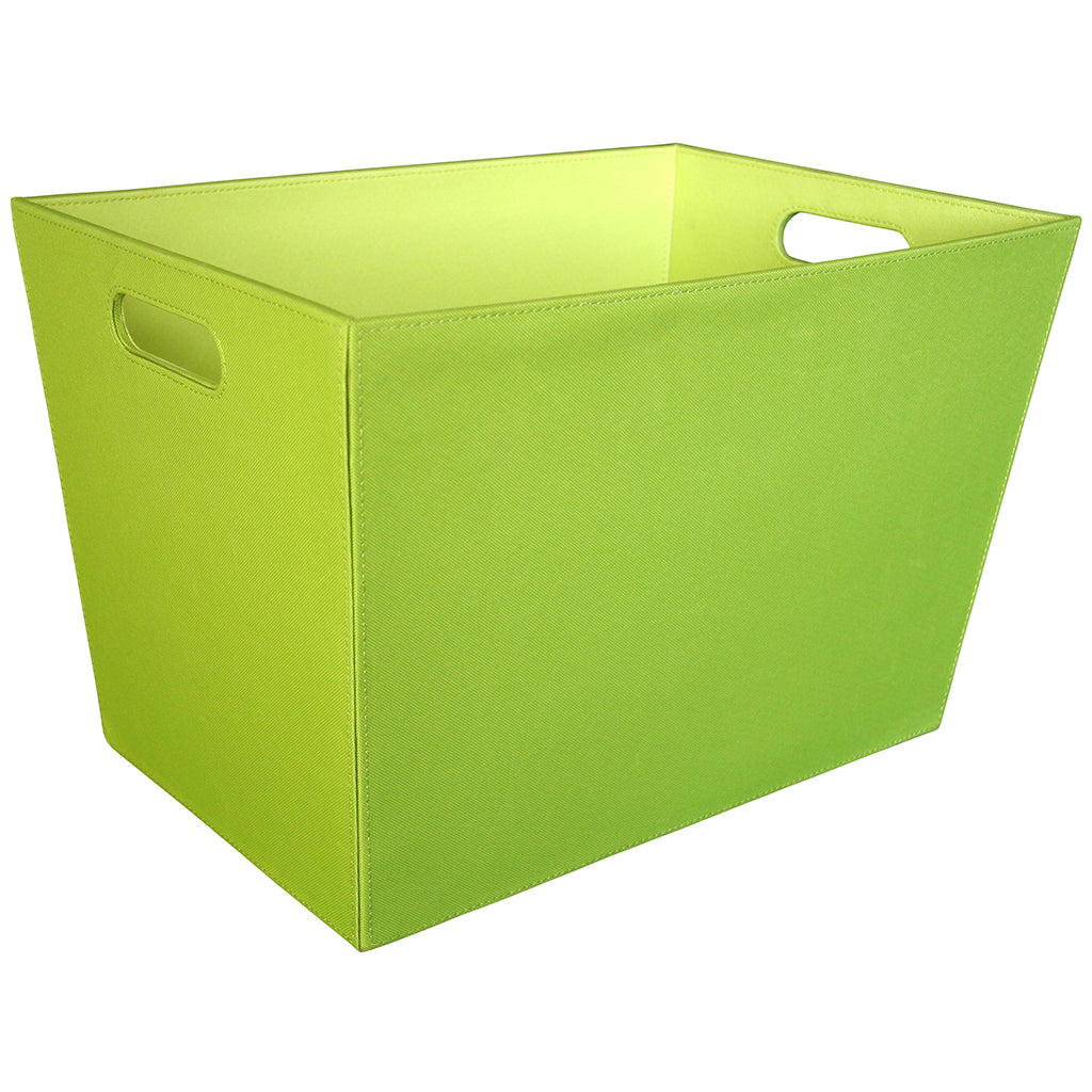 18-inch Tapered Tote, Green by Counseltron