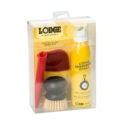 Seasoned Cast Iron Care Kit by Lodge
