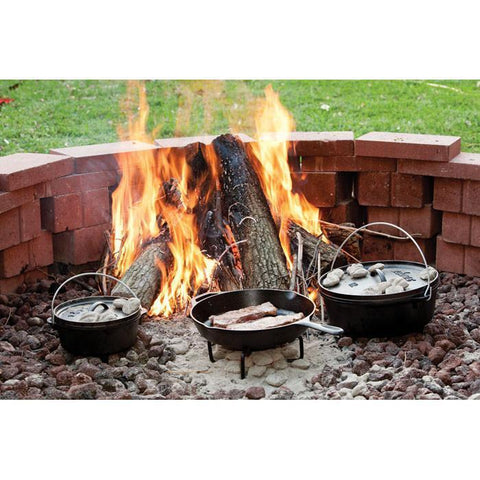 Camp Dutch Oven Lid Stand