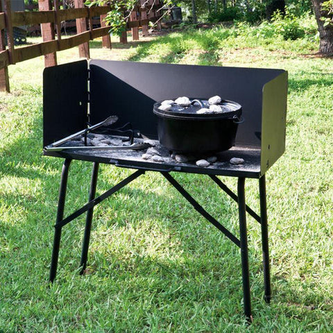 Outdoor Cooking Table by Lodge