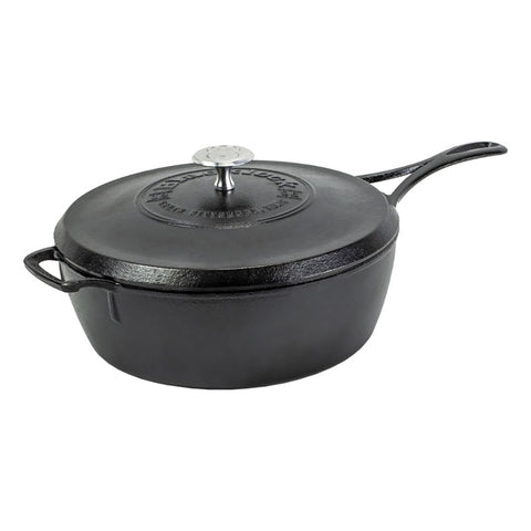 Blacklock *49* 4 Quart Deep Skillet With Lid by Lodge