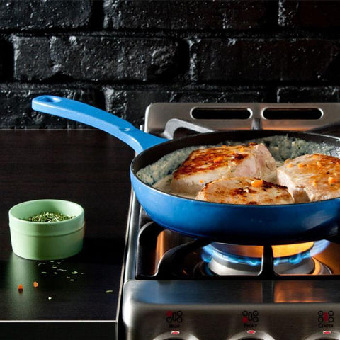 Colour Enamel Skillet 11 Inch (Blue) by Lodge