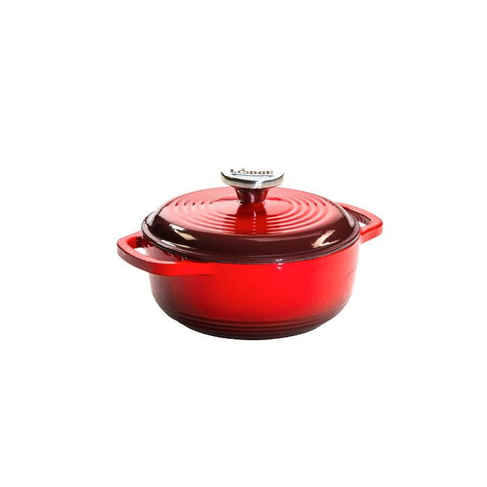 Enamel Dutch Oven 1.5 qt. (Red)