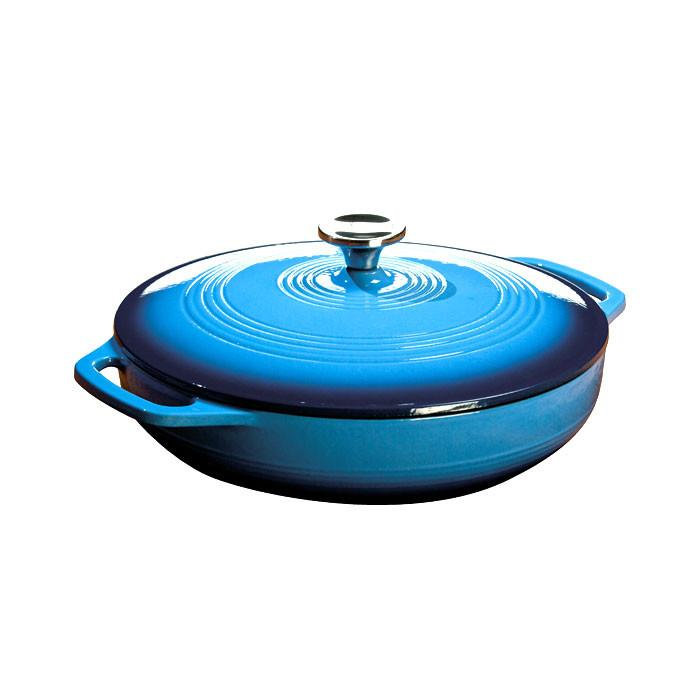 Enamel Covered Casserole 3.6 qt  (Blue) by Lodge