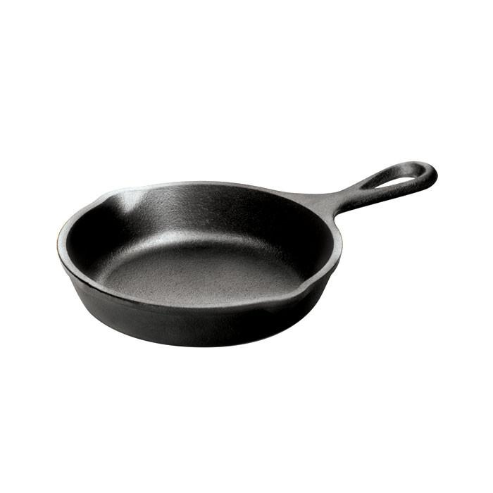 Heat Treated Cast Iron Skillet 5 Inch
