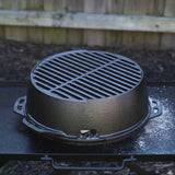 "The ""Kickoff Grill"" portable grill by LODGE"