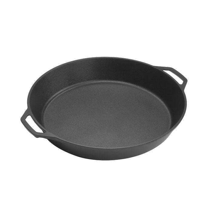 Cast Iron Skillet With Loop Handles 17 Inch by Lodge