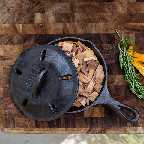 6.5 Inch Seasoned Cast Iron Smoker Skillet by LODGE