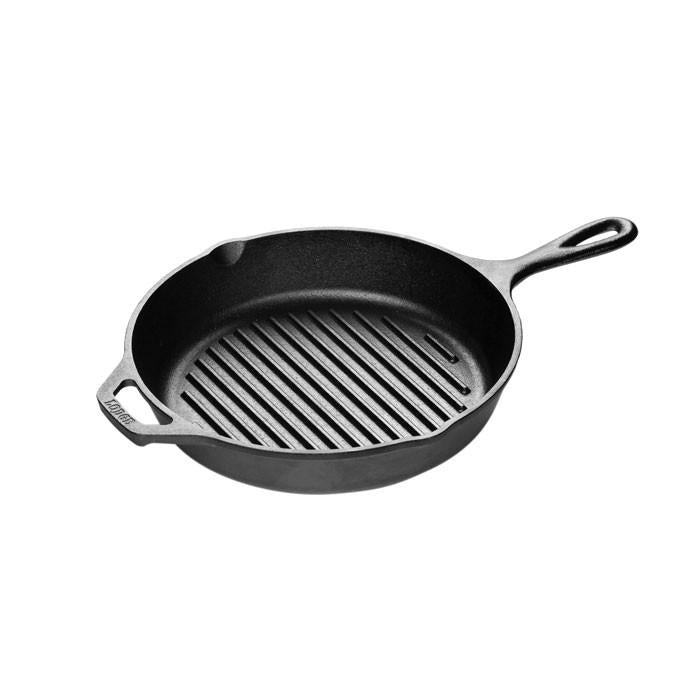 Cast Iron Grill Pan 10.25 Inch by Lodge