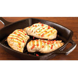 Square Cast Iron Grill Pan 10.5 Inch