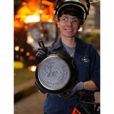 Made in America Series™ 10.25 Inch Cast Iron Rosie the Riveter Skillet
