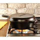 Cast Iron Combo Cooker 10.25 inch / 3 quart by Lodge