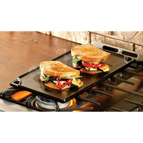 Cast Iron Reversible Grill/Griddle 16.75 Inch x 9.5 Inch by Lodge