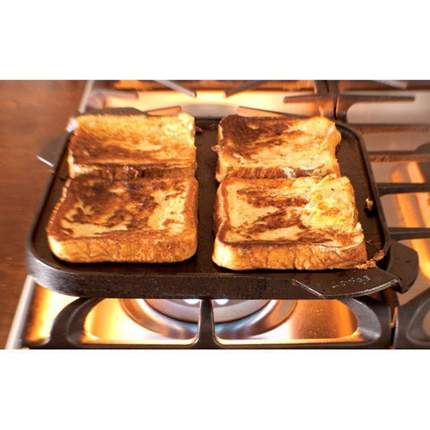 Cast Iron Reversible Grill/Griddle 10.5 Inch