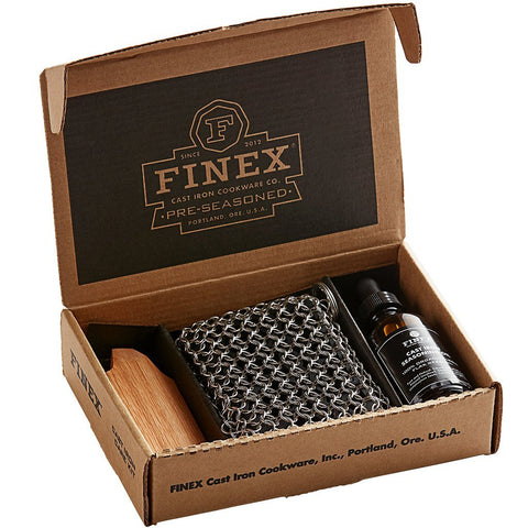 Finex 3 Piece Cast Iron Care Kit by Lodge