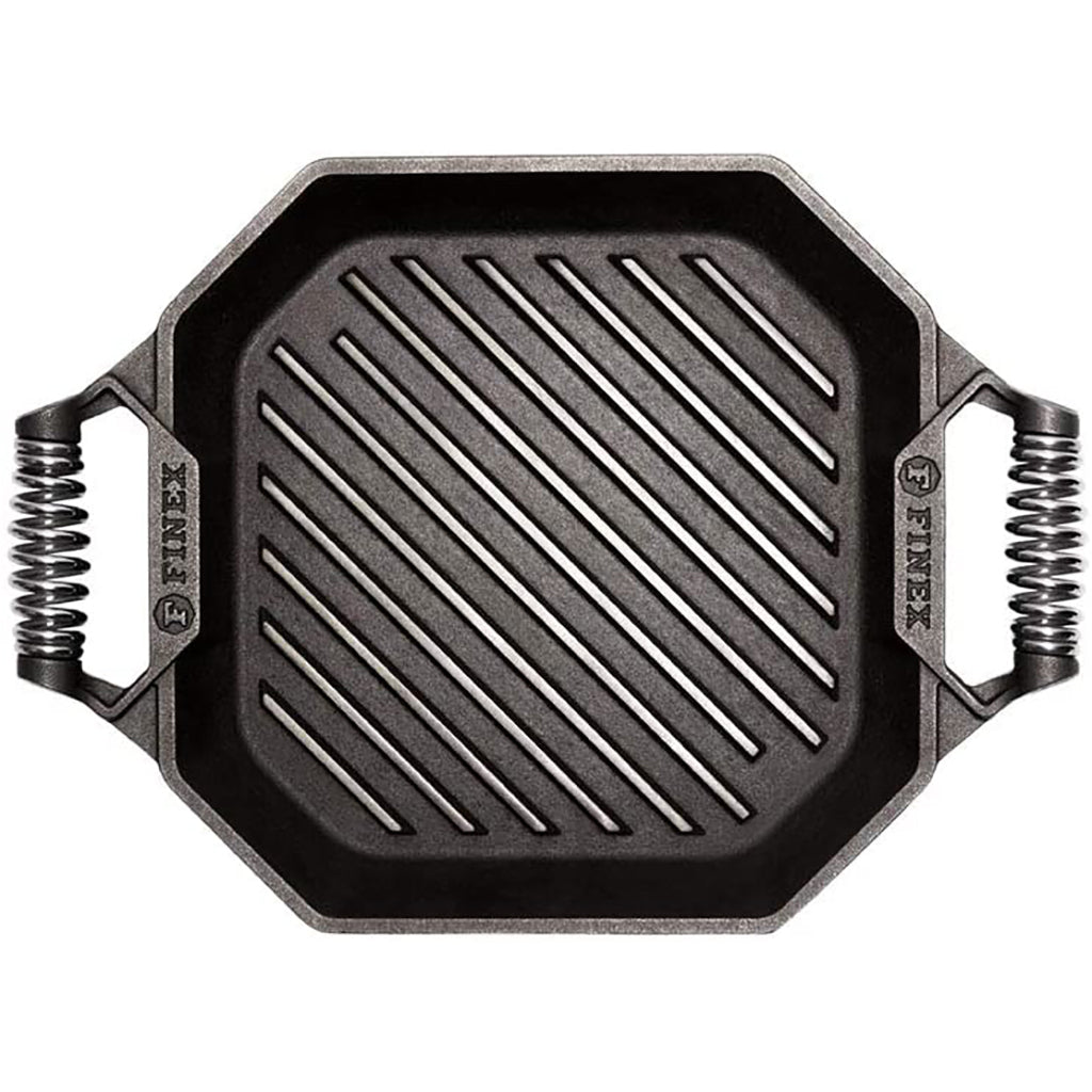 "Finex 12"" Cast Iron Square Grill"
