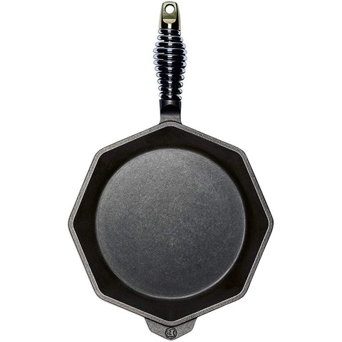 "Finex 10"" Cast Iron Skillet & Lid"