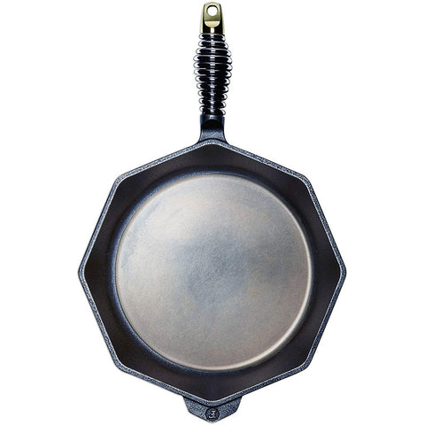 "Finex 12"" Cast Iron Skillet & Lid"