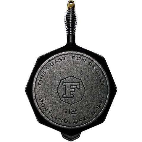 Finex 12 Inch Cast Iron Skillet by Lodge