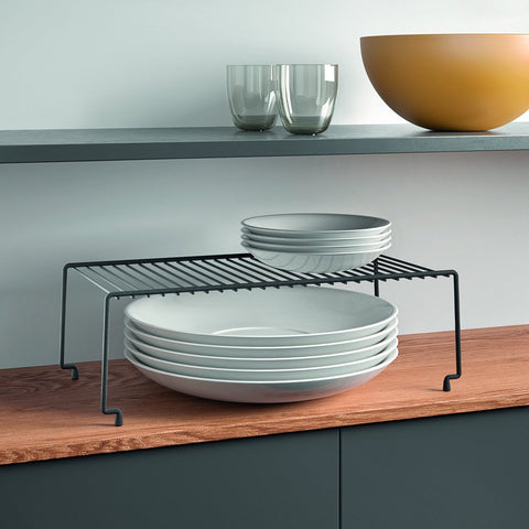 Brooklyn Lava Stackable Shelf by Metaltex