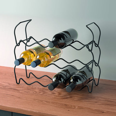 Wine Bar 12 Lava Bottle Rack