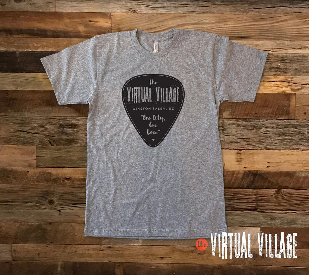 Guitar Pick Solid -  Virtual Village