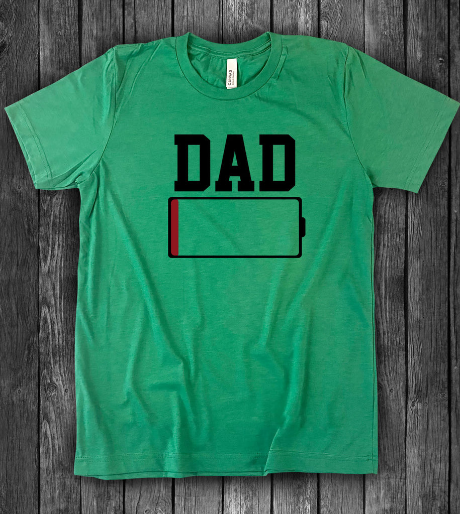 Dad Low Battery - T-Shirt