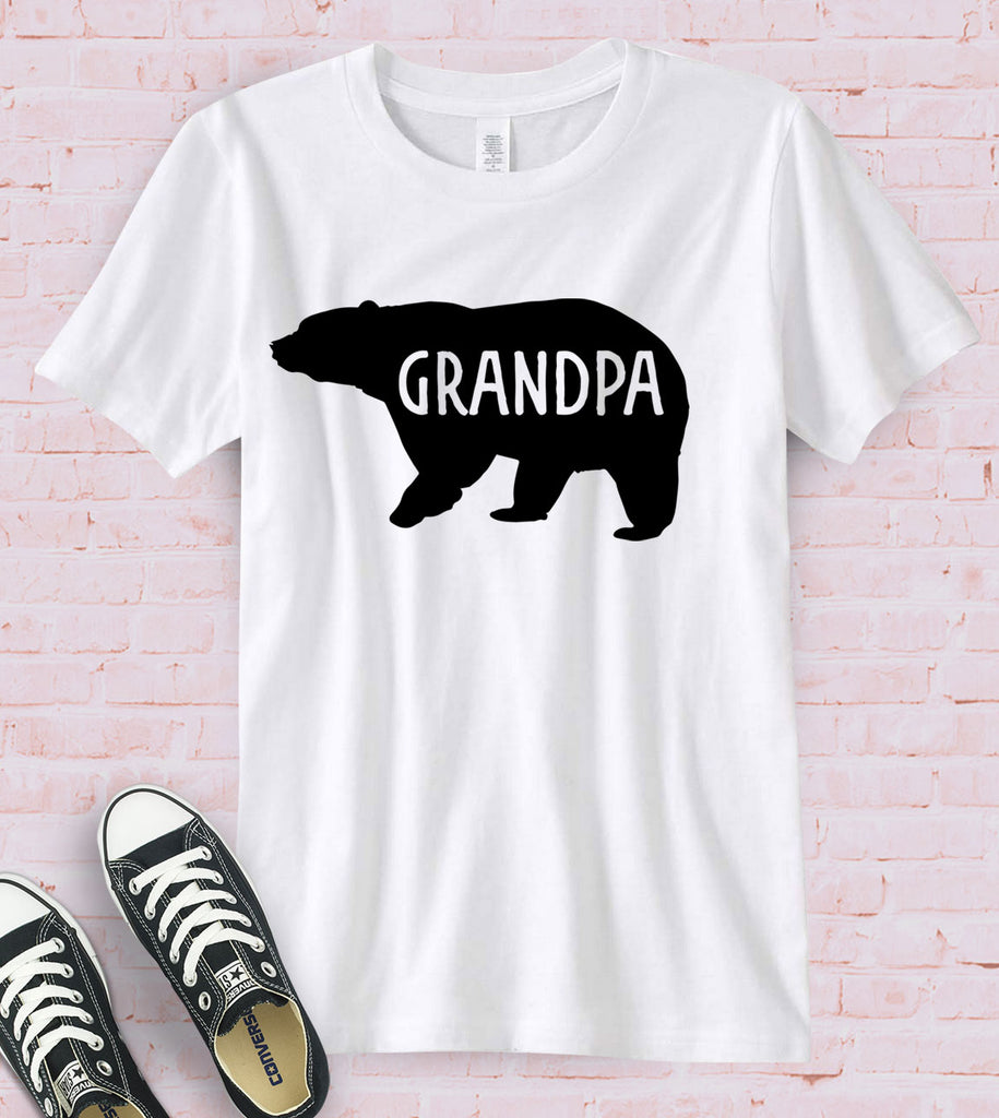 Grandpa Bear - T-Shirt