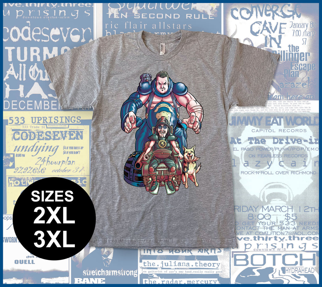 Dave & Dooley as Master Blaster - 2XL & 3XL