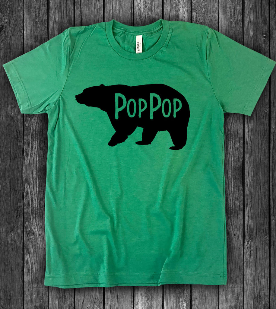 Pop Pop Bear - T-Shirt