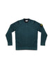 Stone Island Knitted Wool Sweater Dark Green