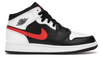 "Air Jordan 1 Mid ""White Black Chile Red"" (GS)"