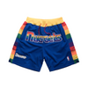 JUST DON Retro Basketball Shorts Denver Nuggets