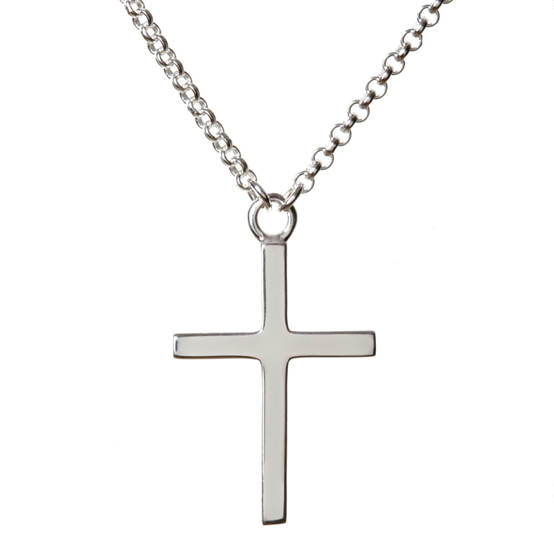 Petit Cross Silver