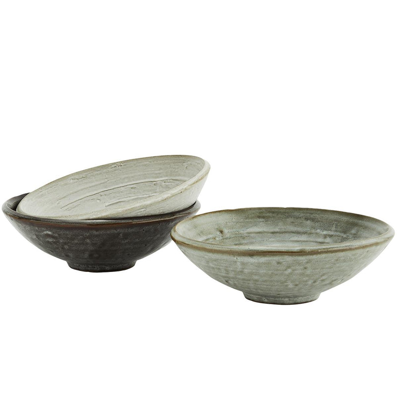 Rustic Serving Bowls - Available in 3 Colours