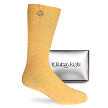 Load image into Gallery viewer, Mrs. Carter - Golden socks