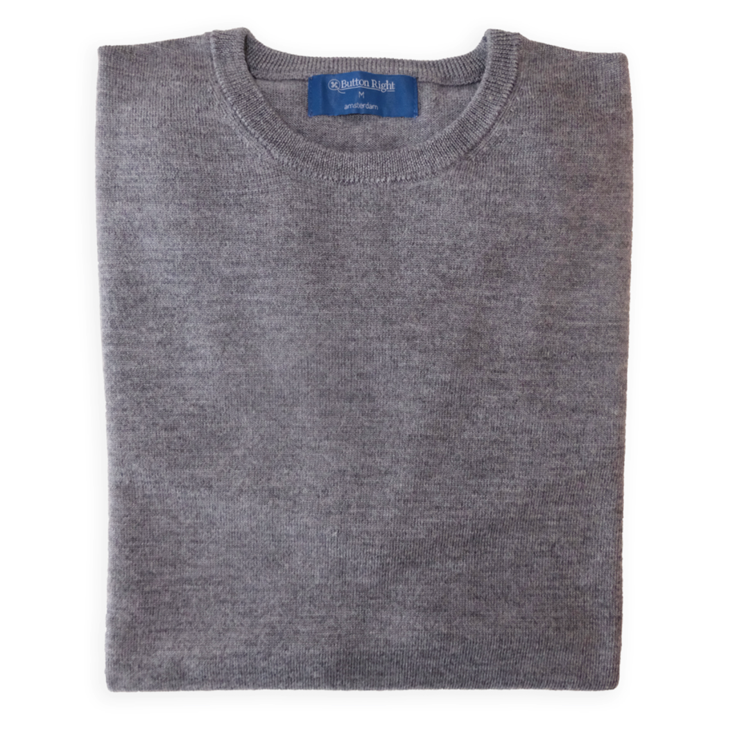 Michael Light (light grey - 100% Merino)