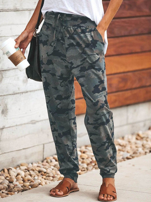 Fashion Camouflage Slim Casual Comfy Pants