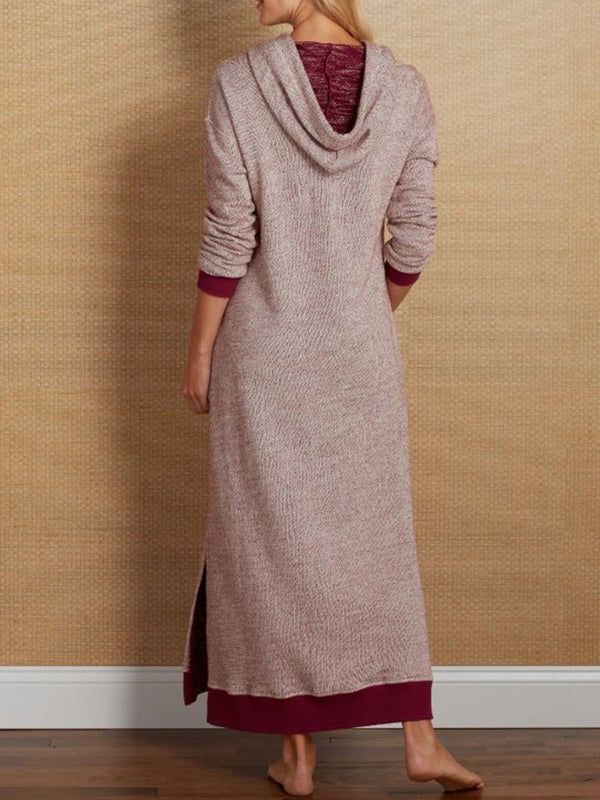 Casual Long Sleeve plus size Dresses