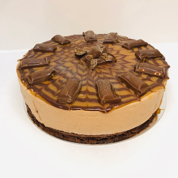 Galaxy Caramel Cheesecake