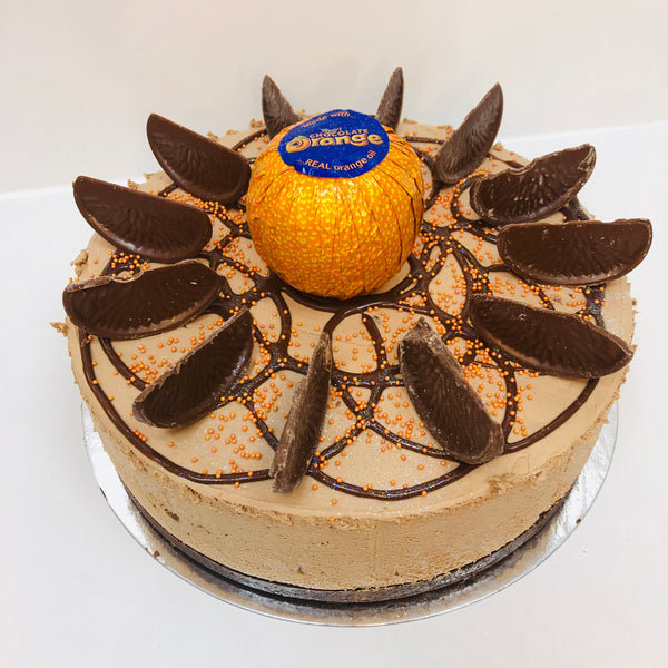 Terrys Chocolate Orange Cheesecake