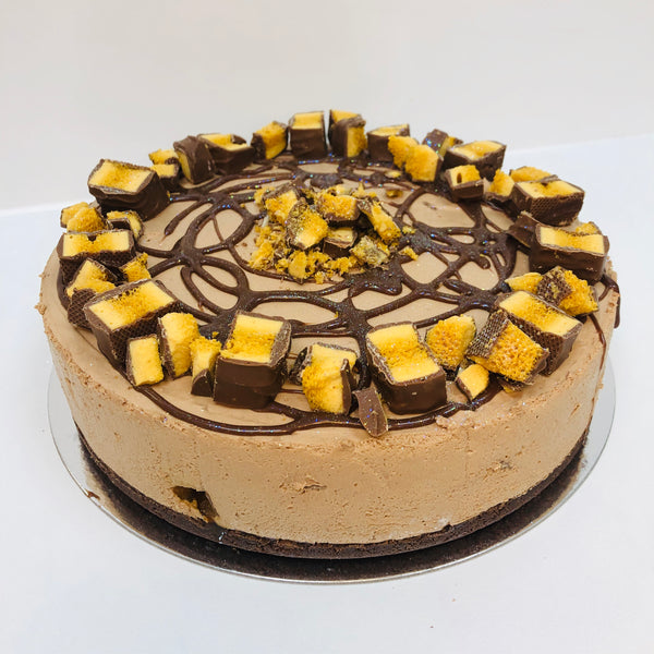 Cadburys Crunchie Cheesecake