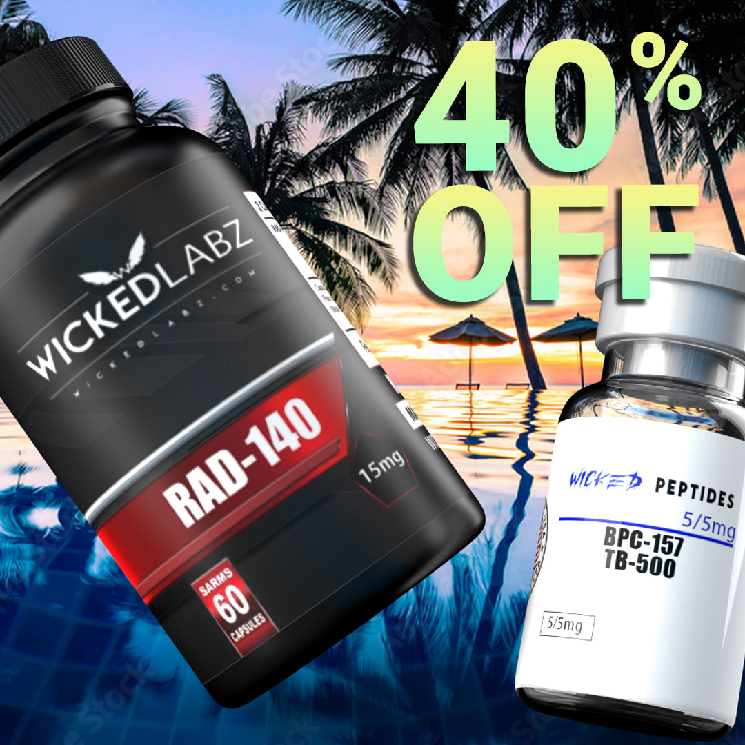 Wicked Labz 40% off