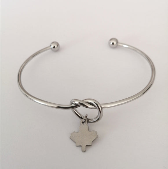 Maple Leaf Charm Bracelet