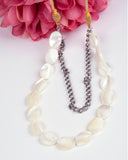 Shell and Chain Necklace